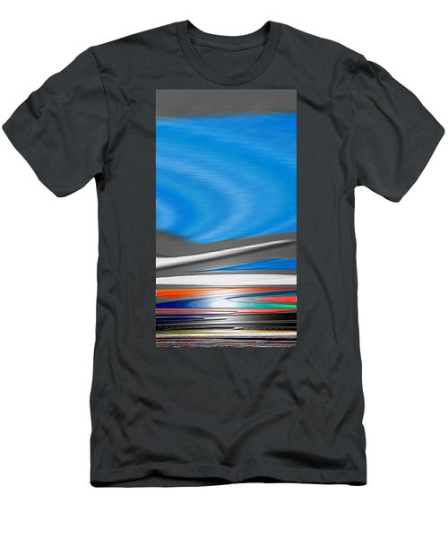 Men's T-Shirt (Slim Fit) featuring the digital art Pittura Digital by Sheila Mcdonald