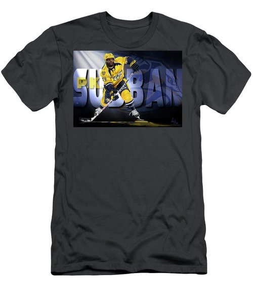 Men's T-Shirt (Slim Fit) featuring the photograph Pk Subban by Don Olea