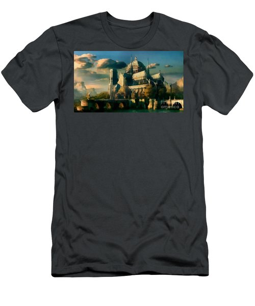 Places Angels Dwell Painted In Bleak Men's T-Shirt (Athletic Fit)