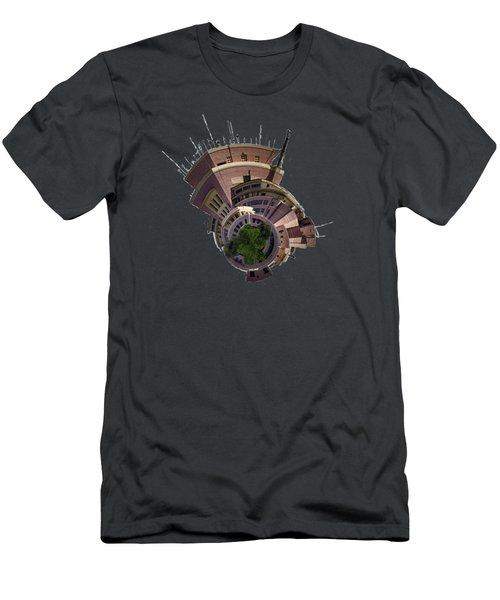 Planet Tripler T-shirt Men's T-Shirt (Slim Fit) by Dan McManus