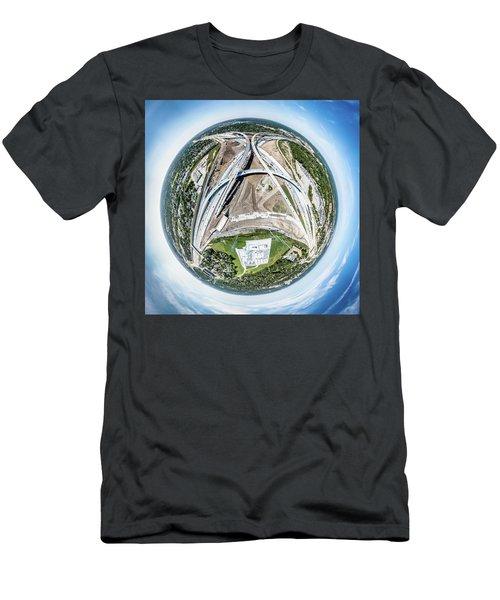 Planet Under Construction Men's T-Shirt (Athletic Fit)