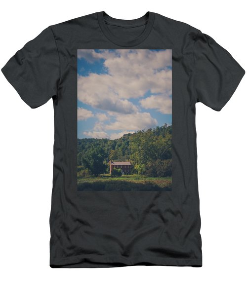 Men's T-Shirt (Slim Fit) featuring the photograph Plantation House by Shane Holsclaw