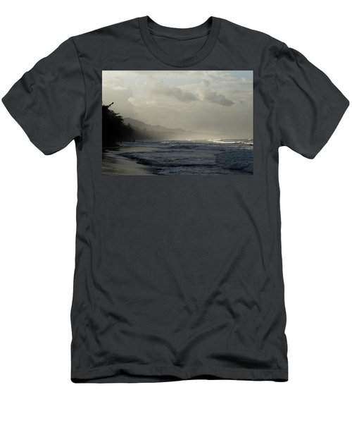 Playa Negra Beach At Sunset In Costa Rica Men's T-Shirt (Athletic Fit)