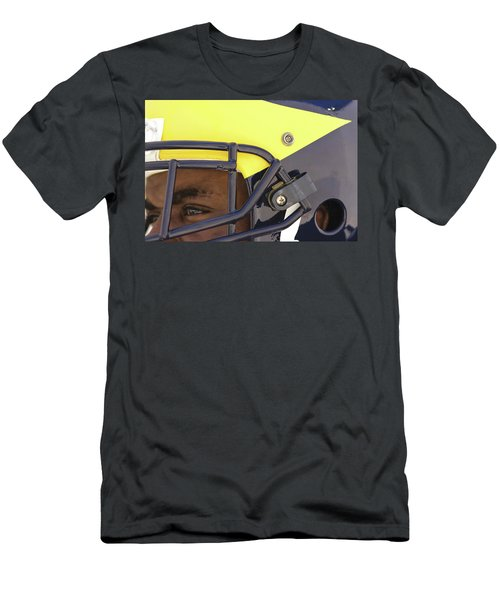 Player In Winged Helmet Men's T-Shirt (Athletic Fit)