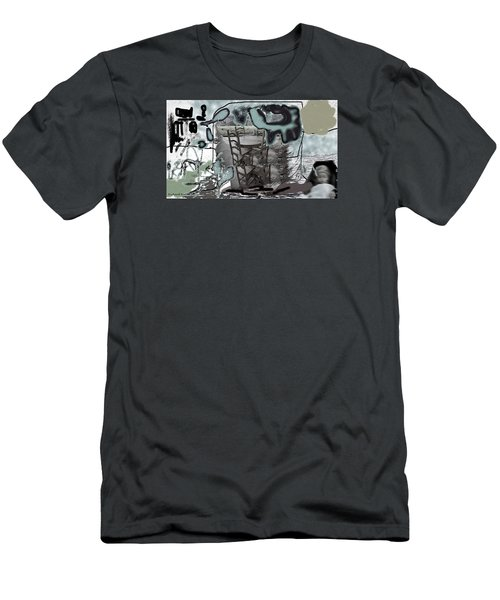 Playing On The Deck Men's T-Shirt (Athletic Fit)