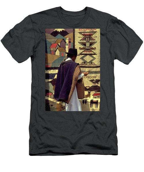 Plaza De Ponchos Men's T-Shirt (Athletic Fit)