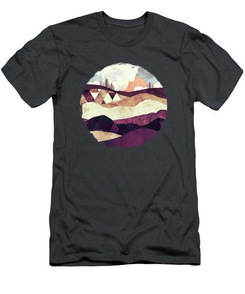 Plum Fields Men's T-Shirt (Athletic Fit)