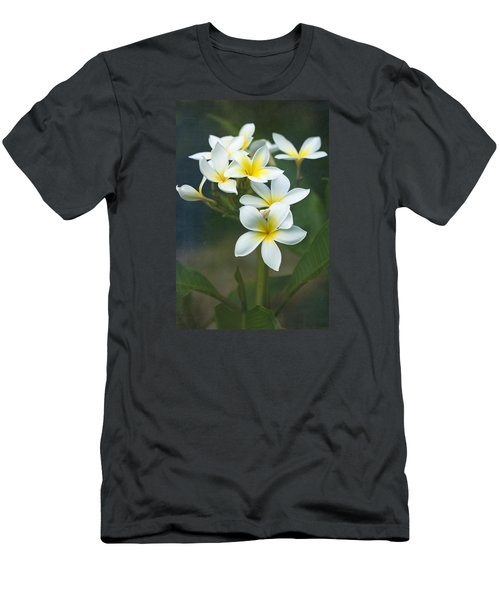 Plumerias On A Cloudy Day Men's T-Shirt (Athletic Fit)