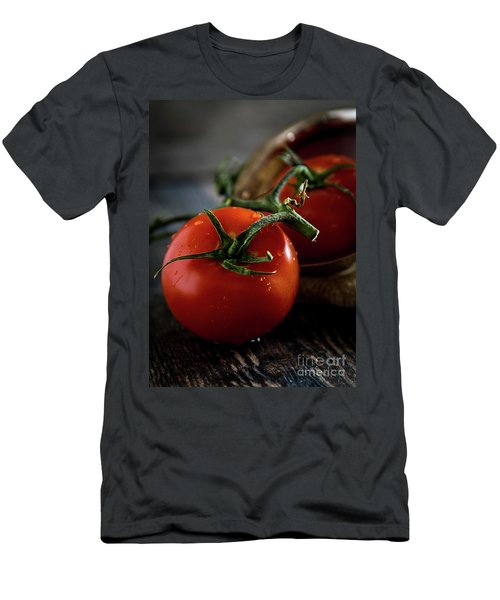 Plump Red Tomatoes Men's T-Shirt (Athletic Fit)