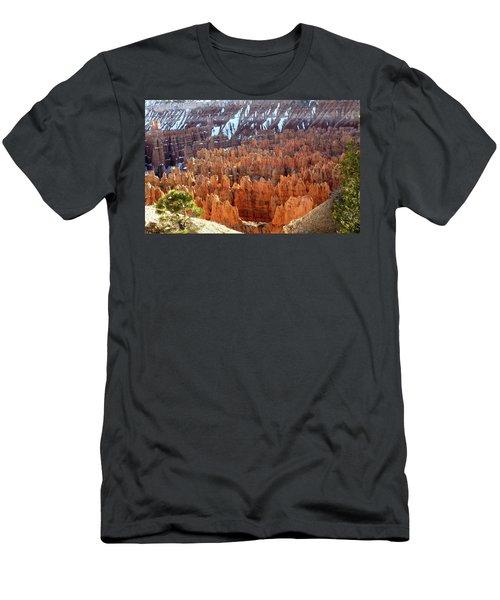 Pocket Full Of Hoodoos, Evening Men's T-Shirt (Slim Fit) by Amelia Racca