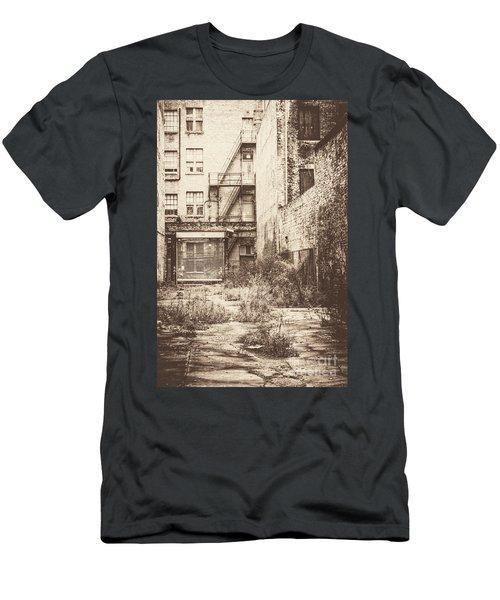 Poetic Deterioration Men's T-Shirt (Athletic Fit)