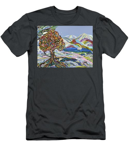Poet's Lake Men's T-Shirt (Athletic Fit)