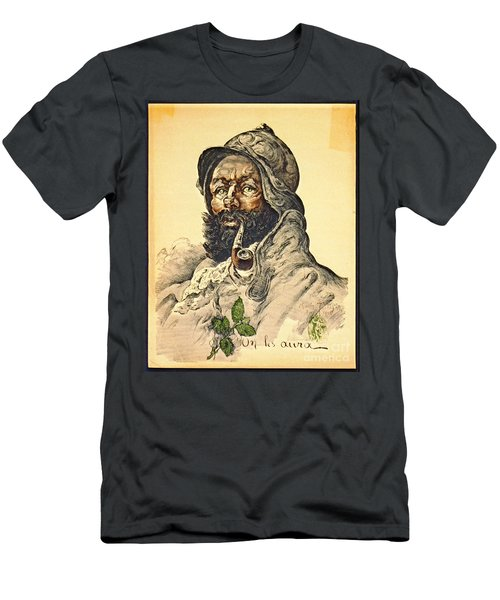 Poilu 1916 Men's T-Shirt (Slim Fit) by Padre Art
