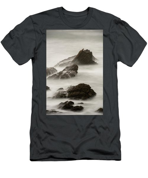 Men's T-Shirt (Slim Fit) featuring the photograph Point Arena  by Dustin LeFevre