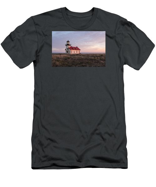 Point Cabrillo Light House Men's T-Shirt (Slim Fit) by Catherine Lau