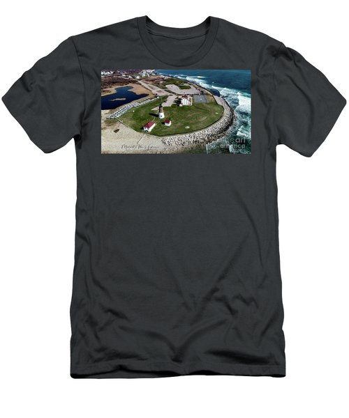 Point Judith Easter Cross Men's T-Shirt (Athletic Fit)
