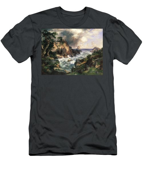 Point Lobos Monterey California Men's T-Shirt (Athletic Fit)