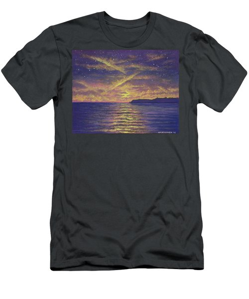 Point Loma Sunset 01 Men's T-Shirt (Athletic Fit)