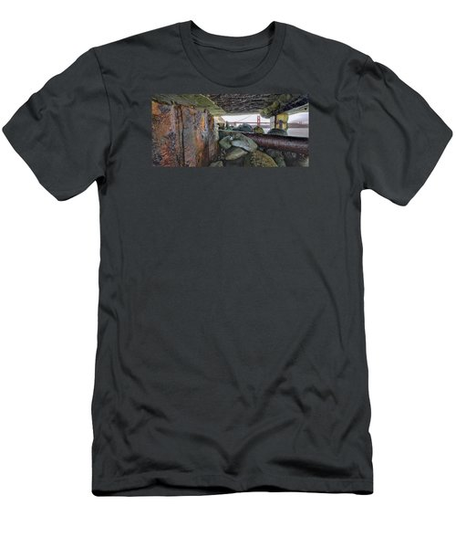 Men's T-Shirt (Athletic Fit) featuring the photograph Point Of View by Steve Siri