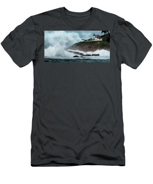Point San Luis Lighthouse Men's T-Shirt (Athletic Fit)
