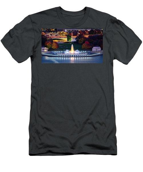 Point State Park  Men's T-Shirt (Athletic Fit)