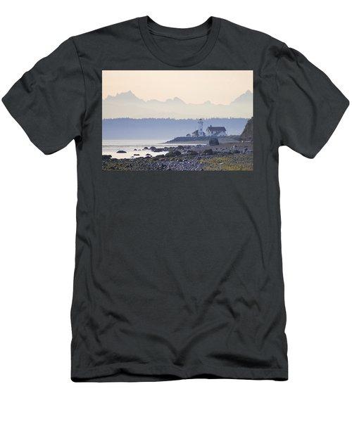Point Wilson Morning Light Men's T-Shirt (Athletic Fit)