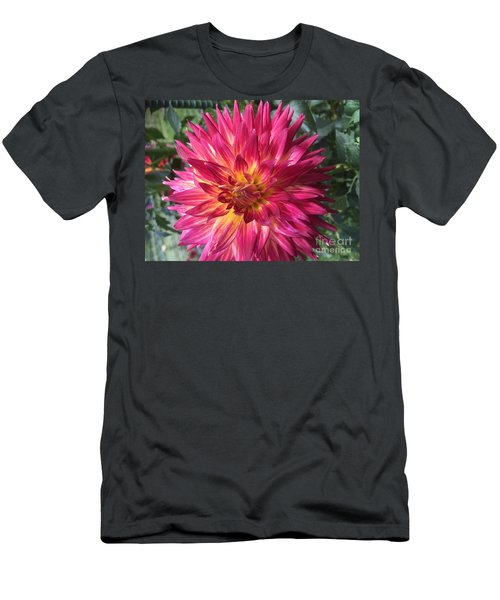 Pointed Dahlia Men's T-Shirt (Athletic Fit)