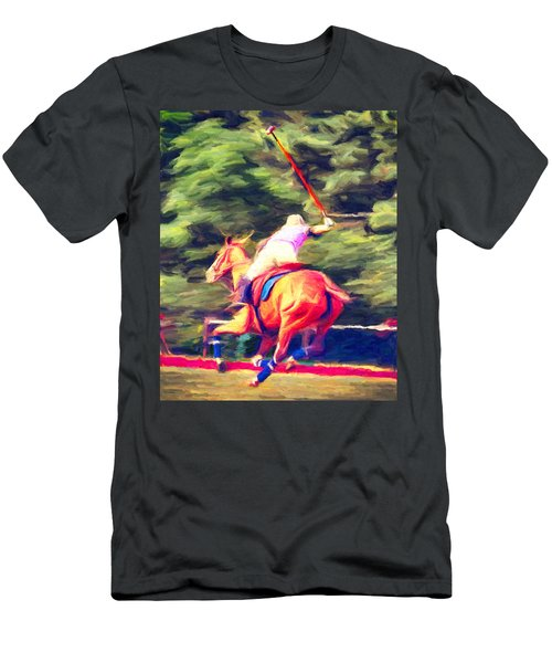 Polo Game 2 Men's T-Shirt (Athletic Fit)