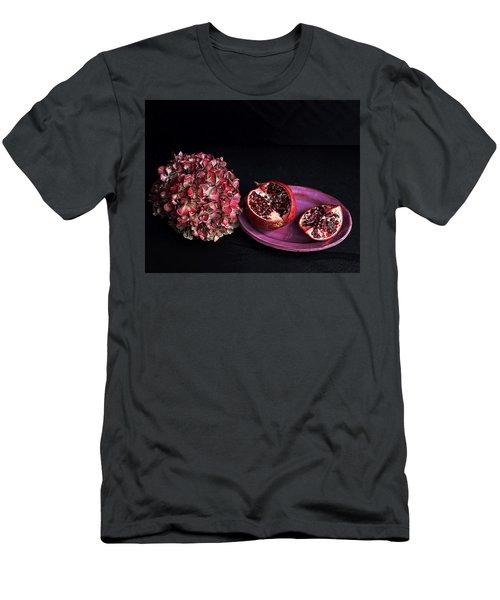 Pomegranate Still Life Men's T-Shirt (Athletic Fit)