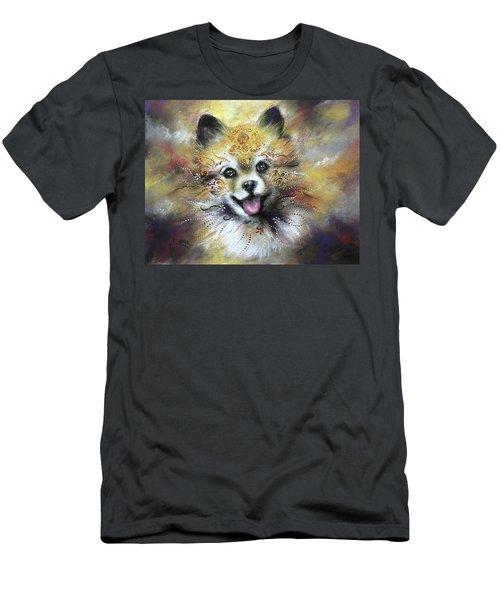 Pomeranian Men's T-Shirt (Athletic Fit)