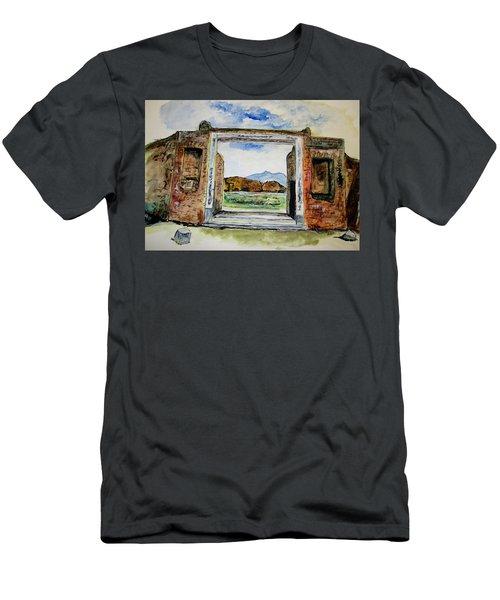 Pompeii Doorway Men's T-Shirt (Athletic Fit)