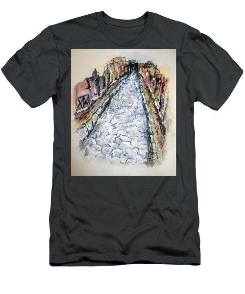 Pompeii Road Men's T-Shirt (Athletic Fit)