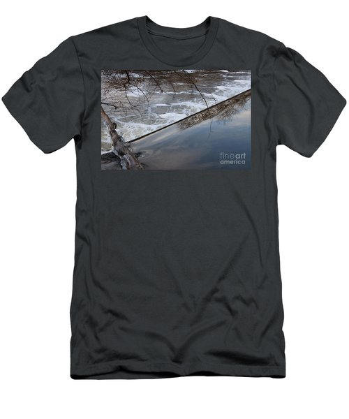 Pompton Spillway From Above Men's T-Shirt (Athletic Fit)