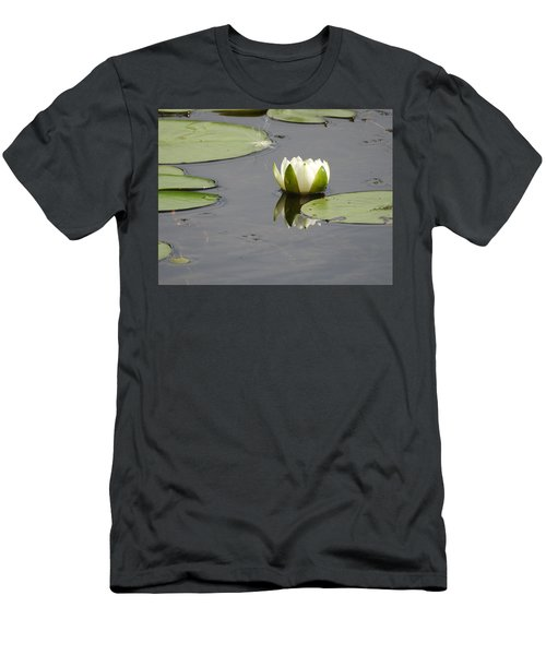 Men's T-Shirt (Slim Fit) featuring the photograph Pond Beauty by Betty-Anne McDonald