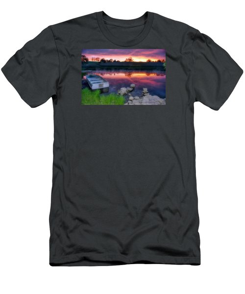 Pond Dreams 9 Men's T-Shirt (Athletic Fit)