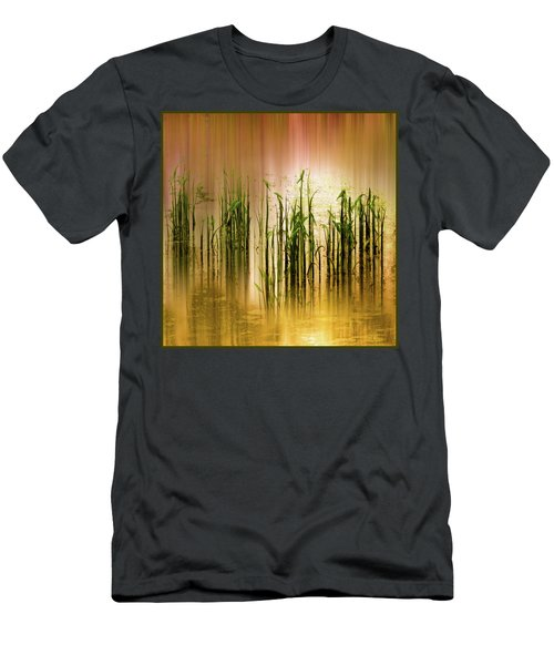 Pond Grass Abstract   Men's T-Shirt (Athletic Fit)