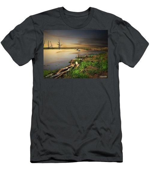 Pond Shore Men's T-Shirt (Athletic Fit)