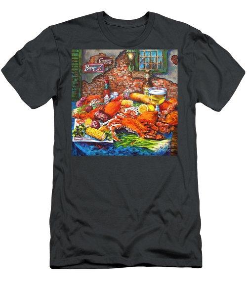 Pontchartrain Crabs Men's T-Shirt (Athletic Fit)