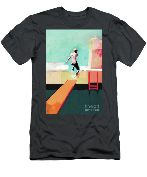 Pool Day Men's T-Shirt (Athletic Fit)