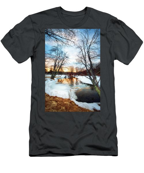 Poor Farm Brook Men's T-Shirt (Athletic Fit)