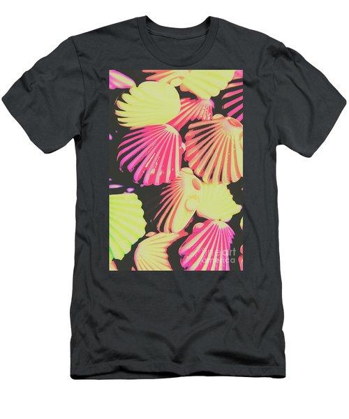 Pop Art From Fluorescent Beach Men's T-Shirt (Athletic Fit)