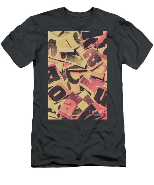 Pop Art Press Men's T-Shirt (Athletic Fit)