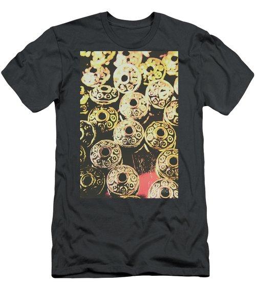 Pop Art Space Invaders Men's T-Shirt (Athletic Fit)