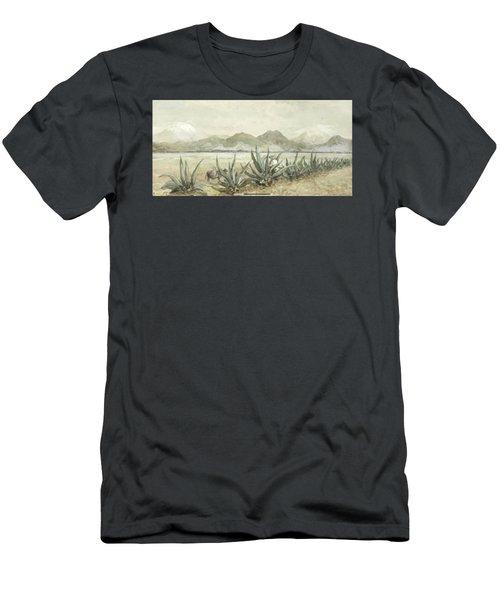 Popocatepetl  Men's T-Shirt (Athletic Fit)