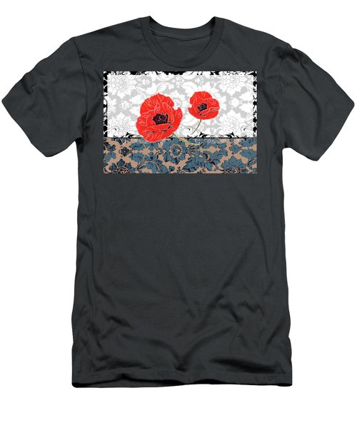 Poppies 4 Men's T-Shirt (Athletic Fit)