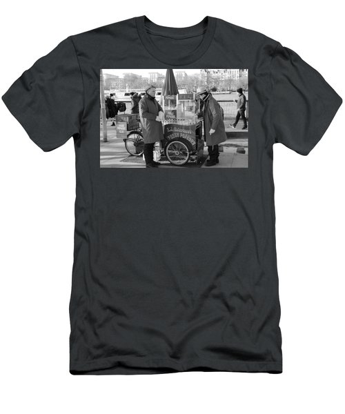 Popping In And Out Men's T-Shirt (Athletic Fit)