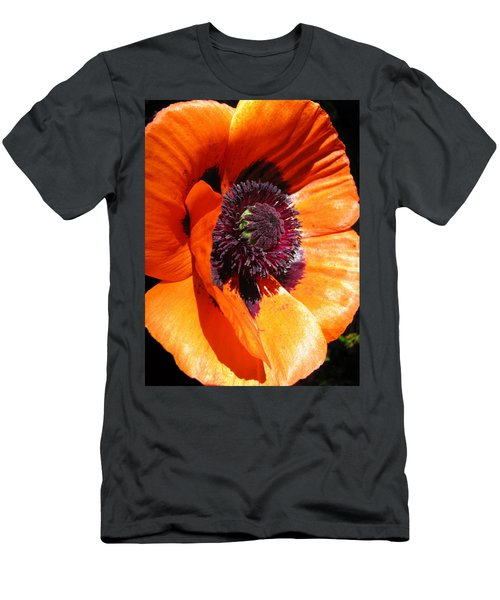 Poppy Art Men's T-Shirt (Athletic Fit)