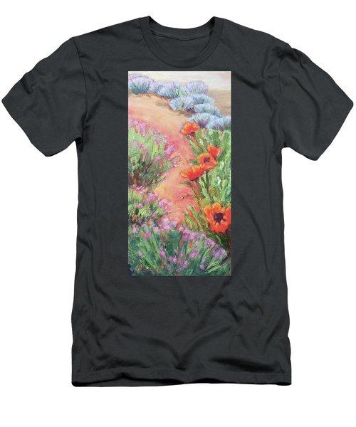 Poppy Pathway Men's T-Shirt (Athletic Fit)