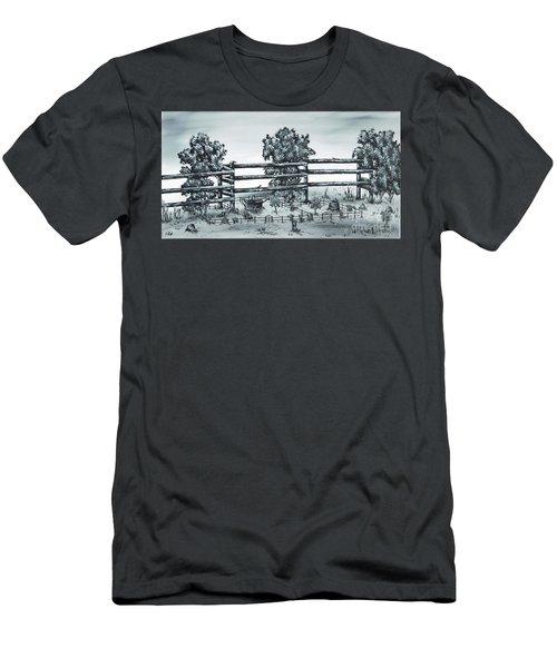 Popular Street Men's T-Shirt (Slim Fit) by Kenneth Clarke