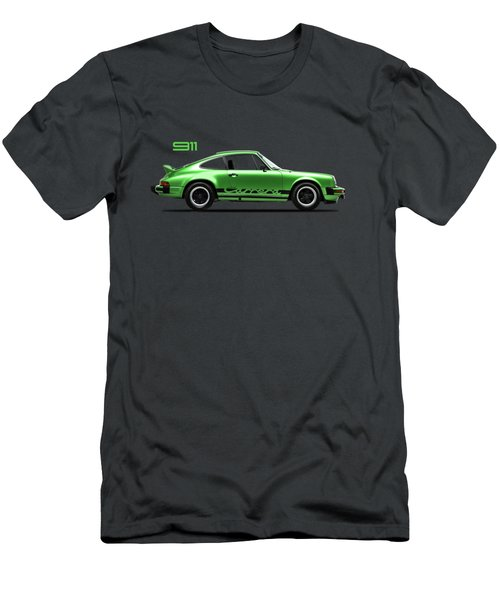 Porsche 911 Carrera Green Men's T-Shirt (Athletic Fit)